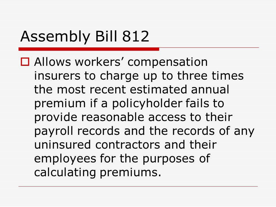 Assembly Bill 812