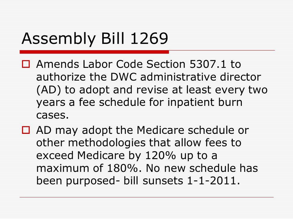 Assembly Bill 1269