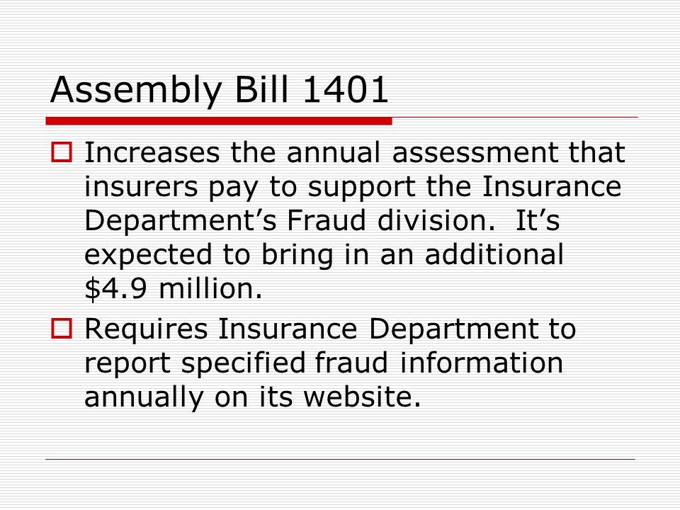 Assembly Bill 1401