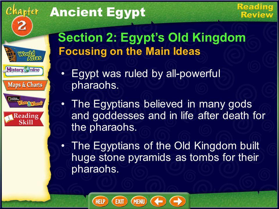 Section 2: Egypt's Old Kingdom