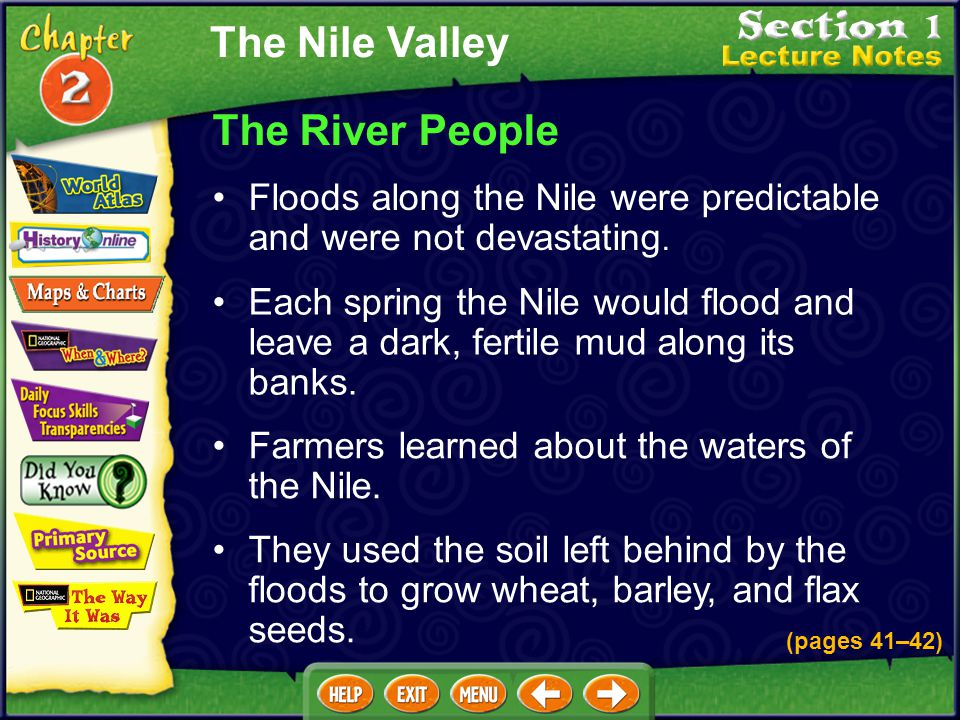 The Nile Valley The River People