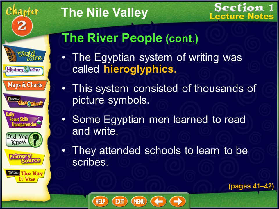 The River People (cont.)