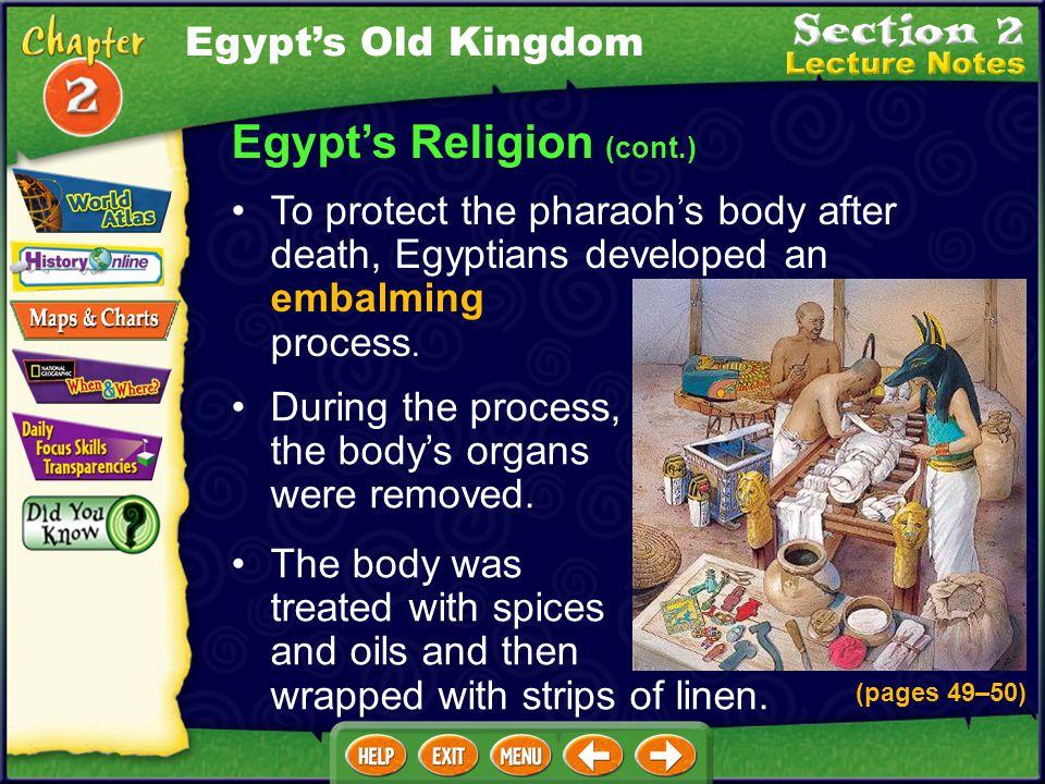 Egypt's Religion (cont.)