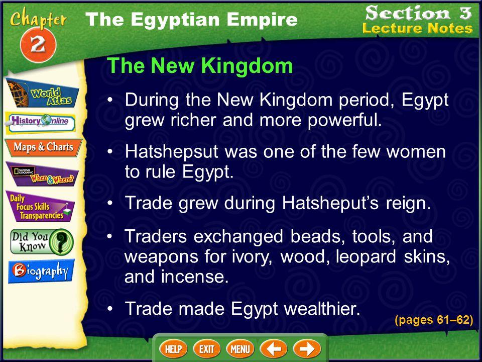 The New Kingdom The Egyptian Empire