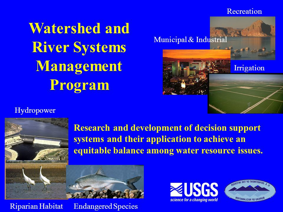 Watershed and River Systems Management Program
