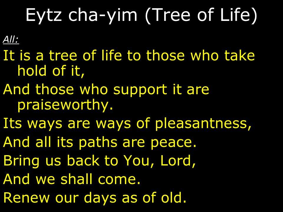 Eytz cha-yim (Tree of Life)