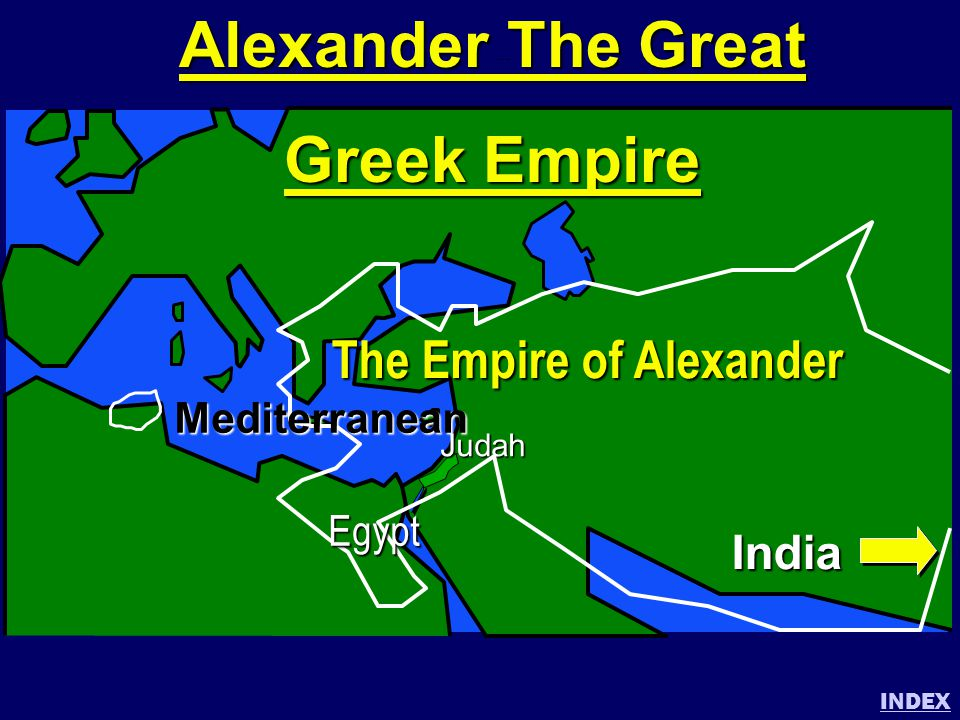 Alexander The Great Greek Empire