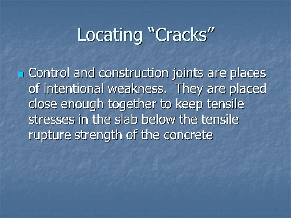 Locating Cracks
