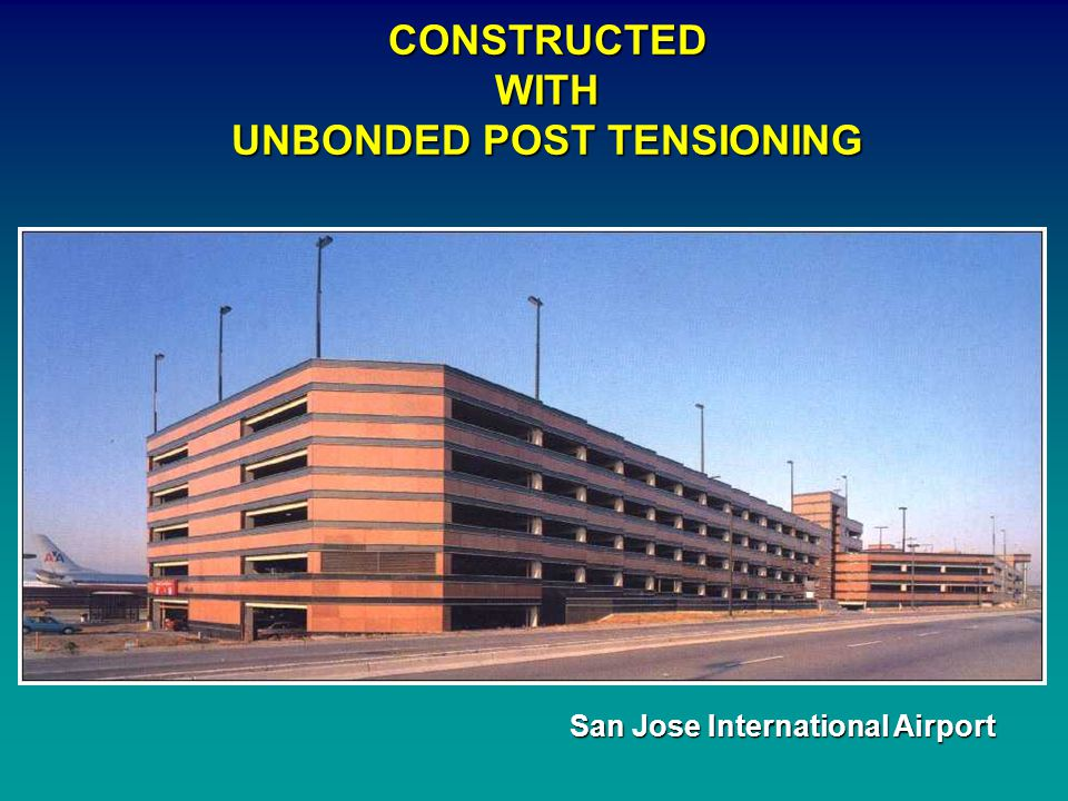 UNBONDED POST TENSIONING