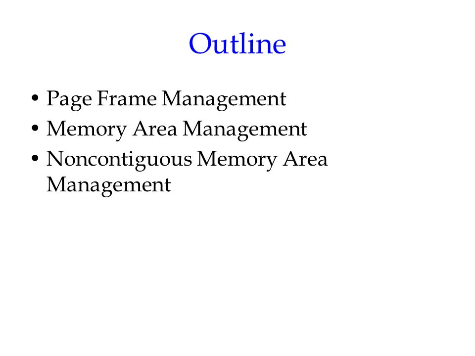 memory management 2 essay