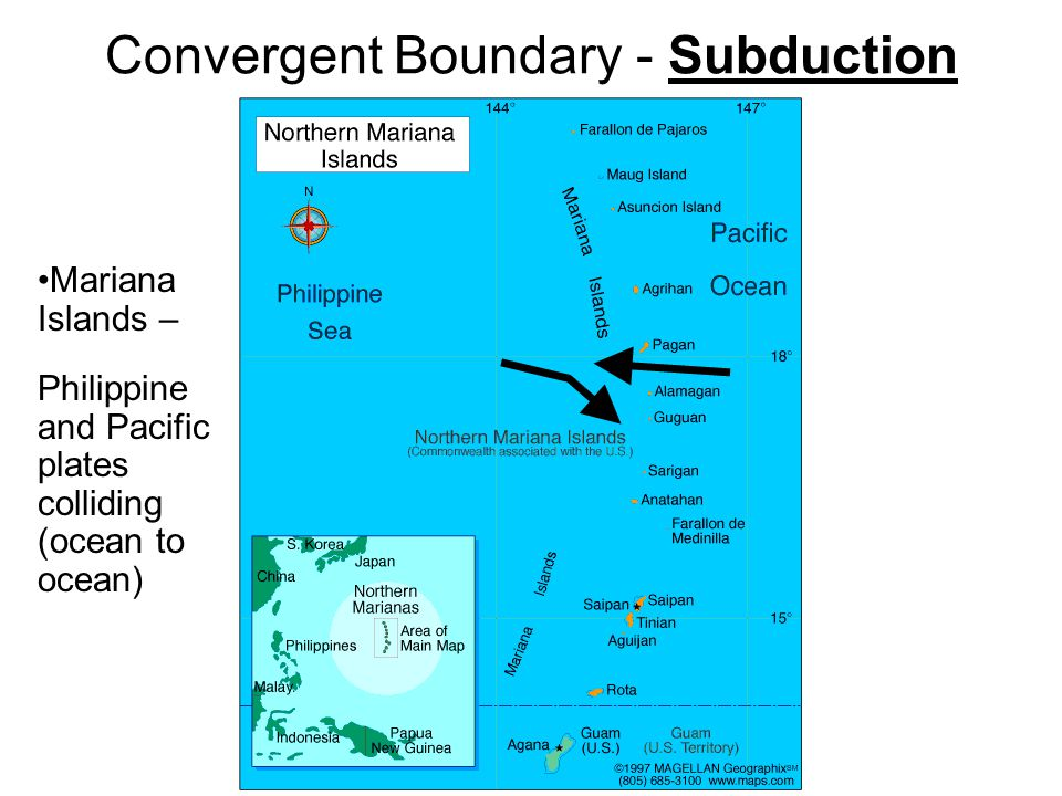 Convergent Boundary - Subduction