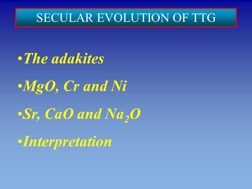 SECULAR EVOLUTION OF TTG