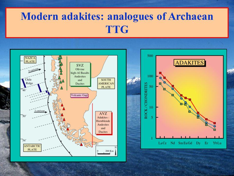 Modern adakites: analogues of Archaean TTG