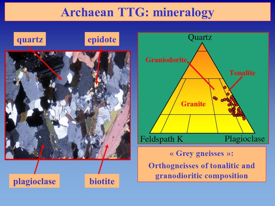 Archaean TTG: mineralogy
