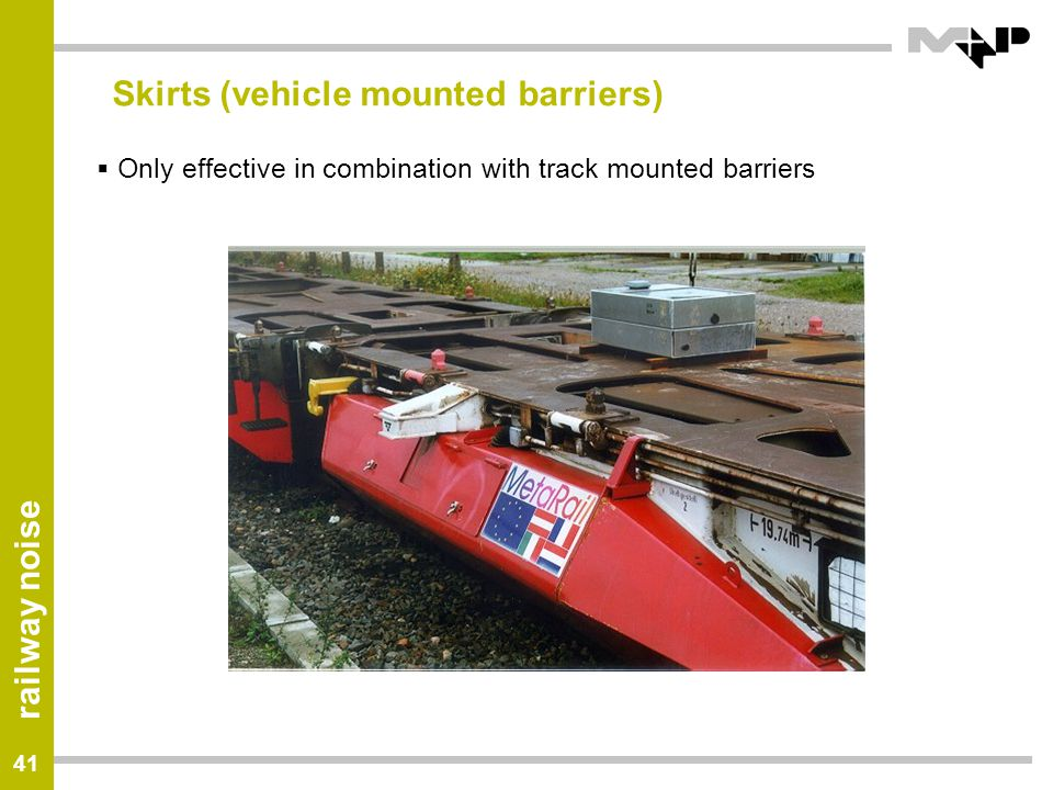Skirts (vehicle mounted barriers)