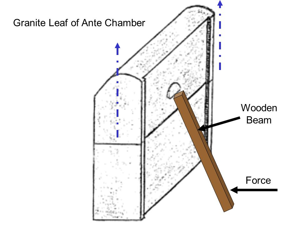 Granite Leaf of Ante Chamber