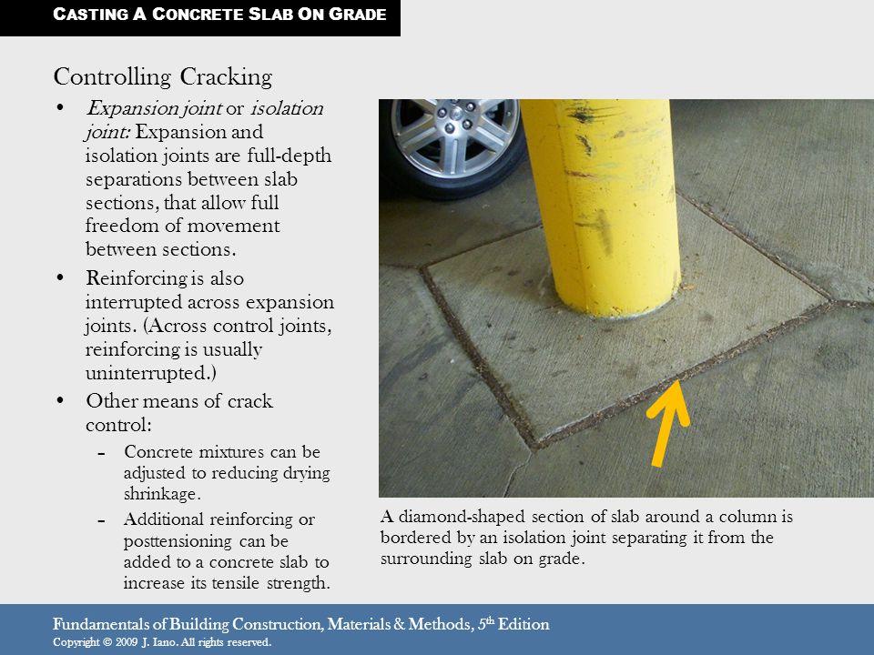 Casting a concrete slab on grade ppt download
