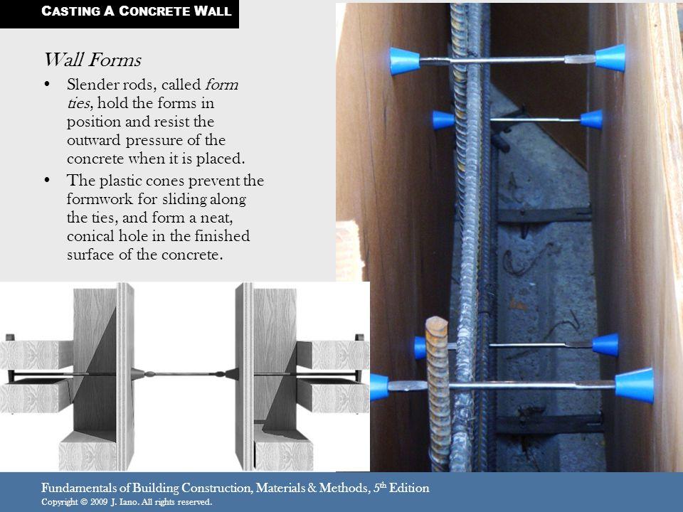 CASTING A CONCRETE WALL