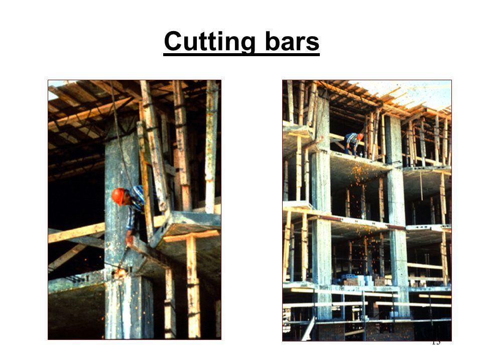 Cutting bars