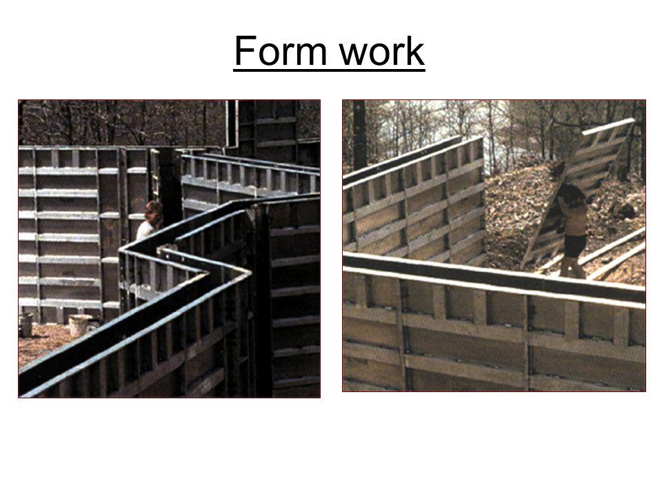 Form work