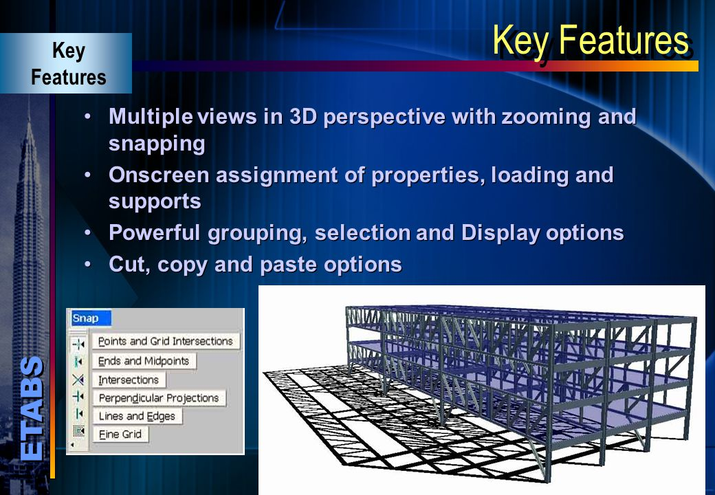 Key Features Key Features