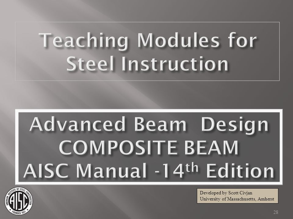 AISC Manual -14th Edition