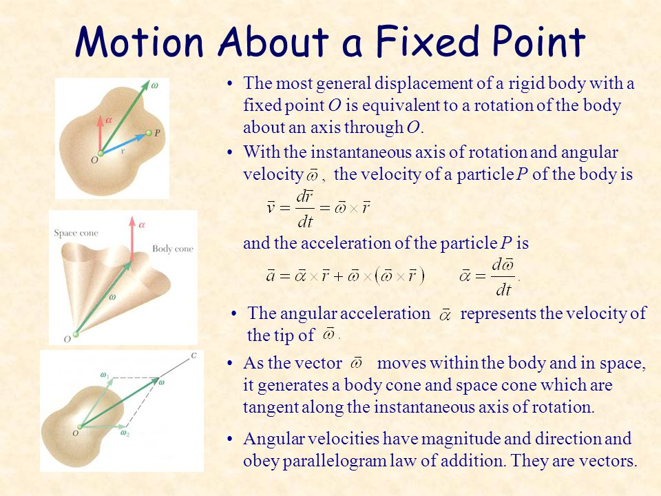 Motion About a Fixed Point