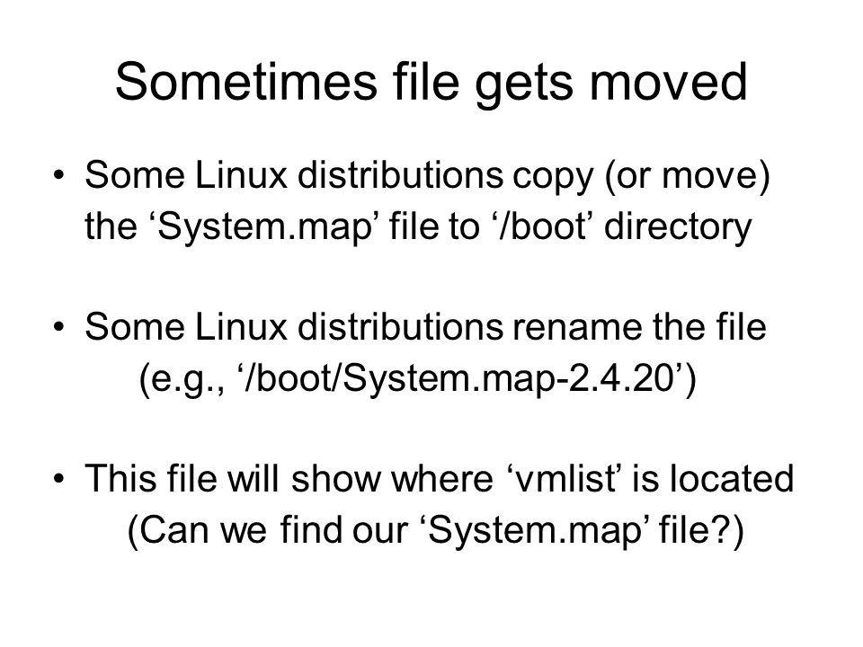 Sometimes file gets moved