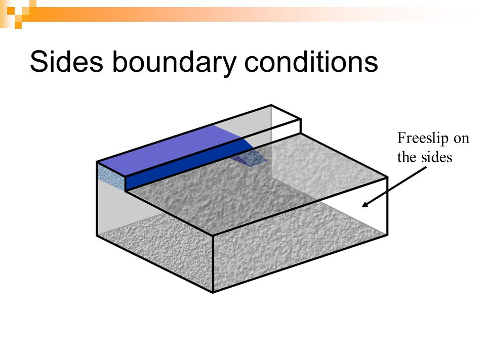 Sides boundary conditions