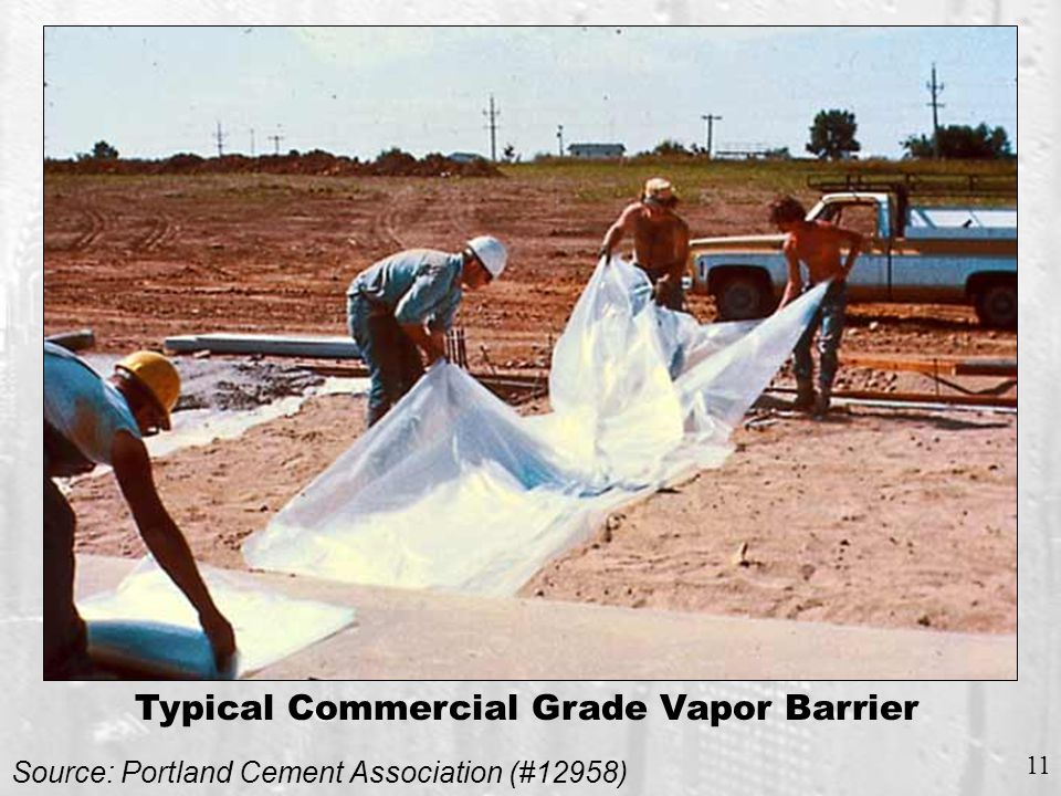 DEFINITION OF VAPOR BARRIERS