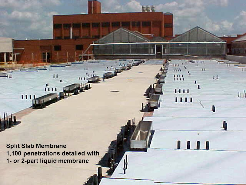 THE PROTECTED WALL MEMBRANE ACTS AS A BARRIER TO WATER & MOISTURE