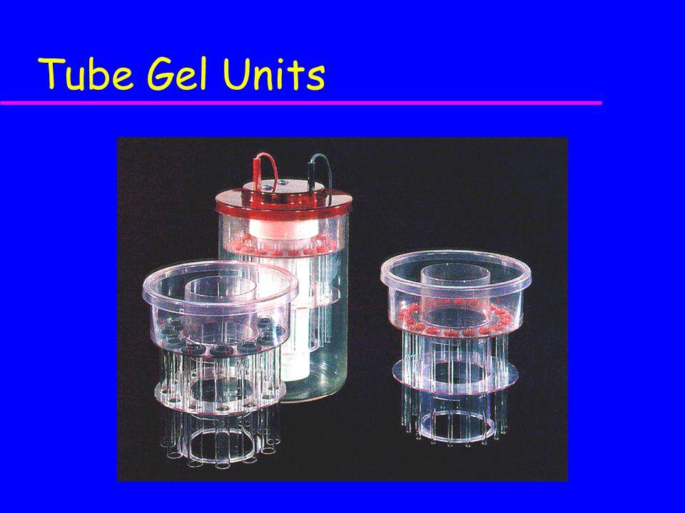 Tube Gel Units