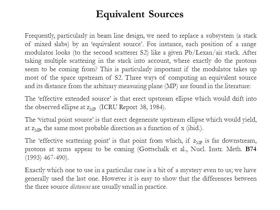 Equivalent Sources