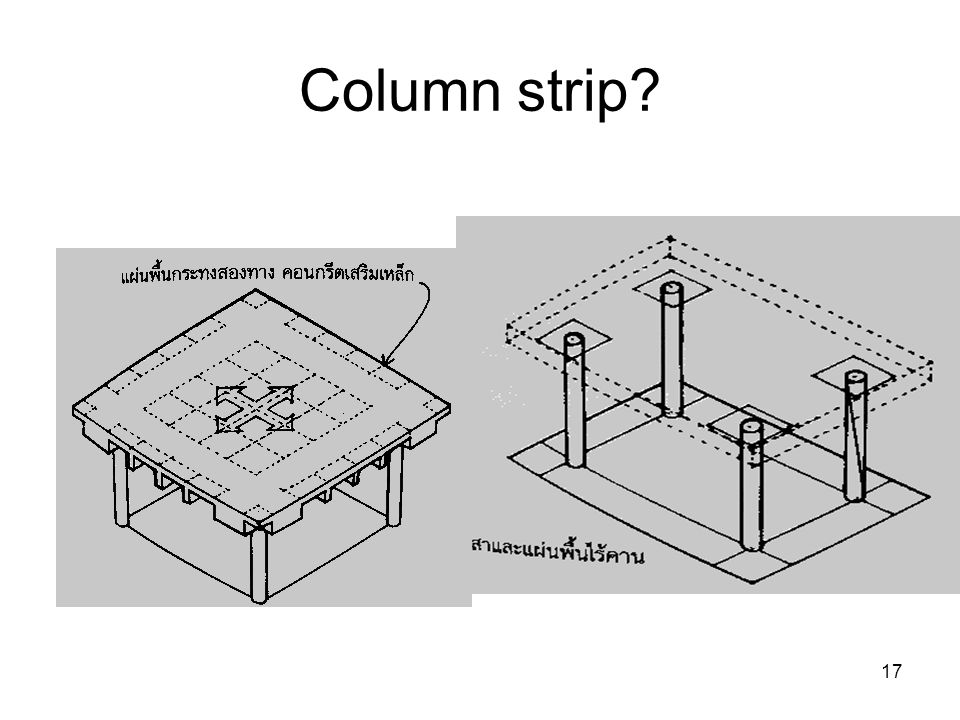 Column strip