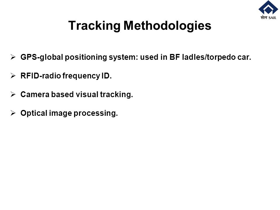 Tracking Methodologies