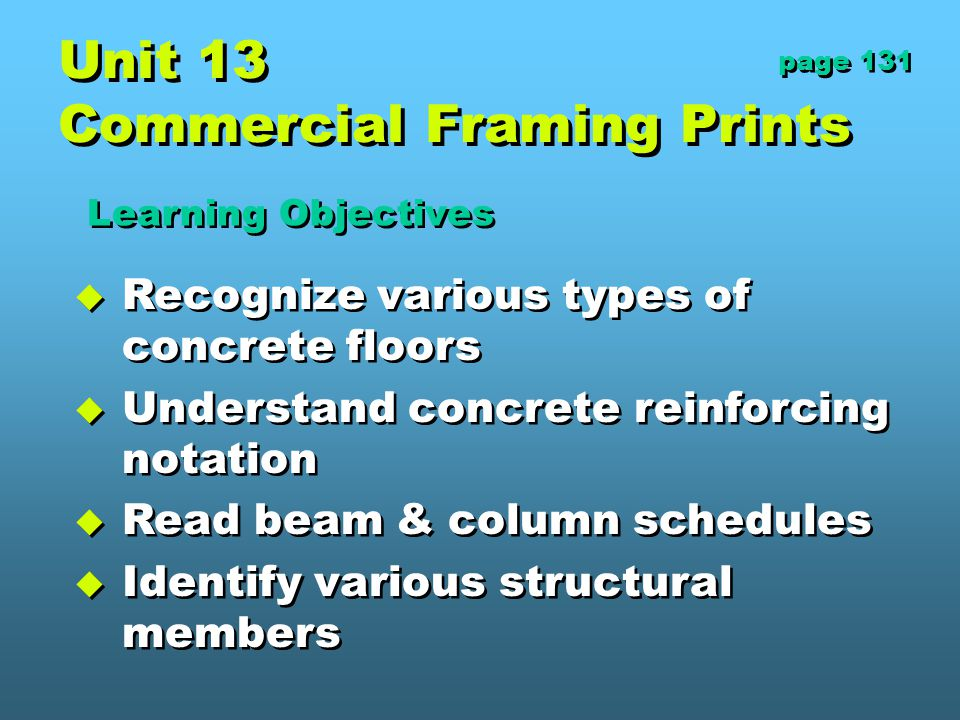Unit 13 Commercial Framing Prints