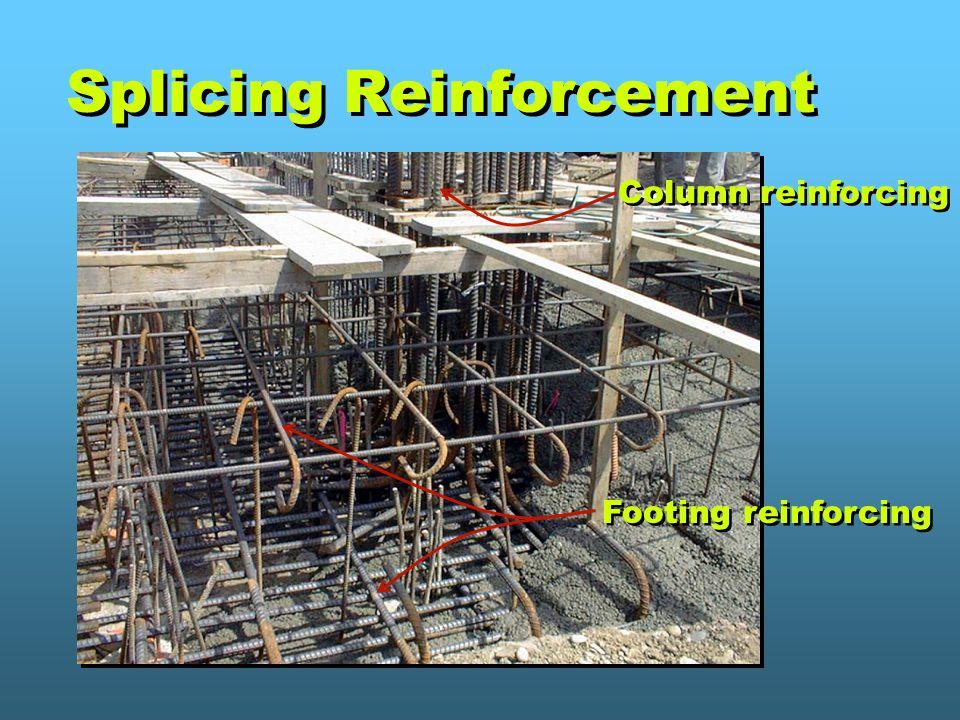 Splicing Reinforcement