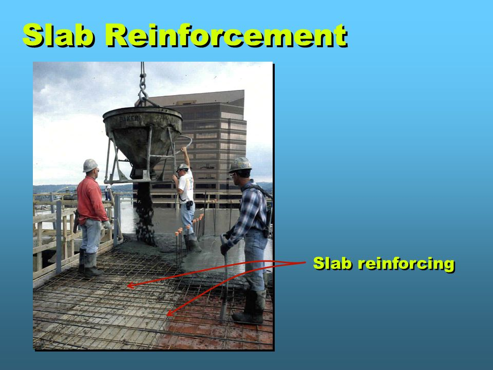 Slab Reinforcement Slab reinforcing