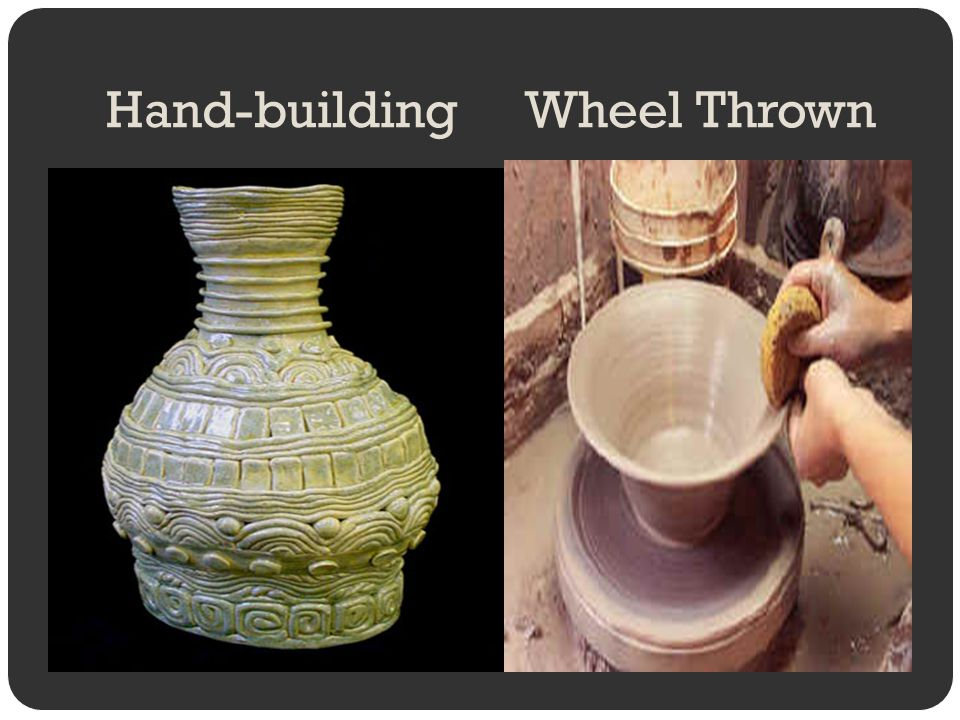 Hand-building Wheel Thrown