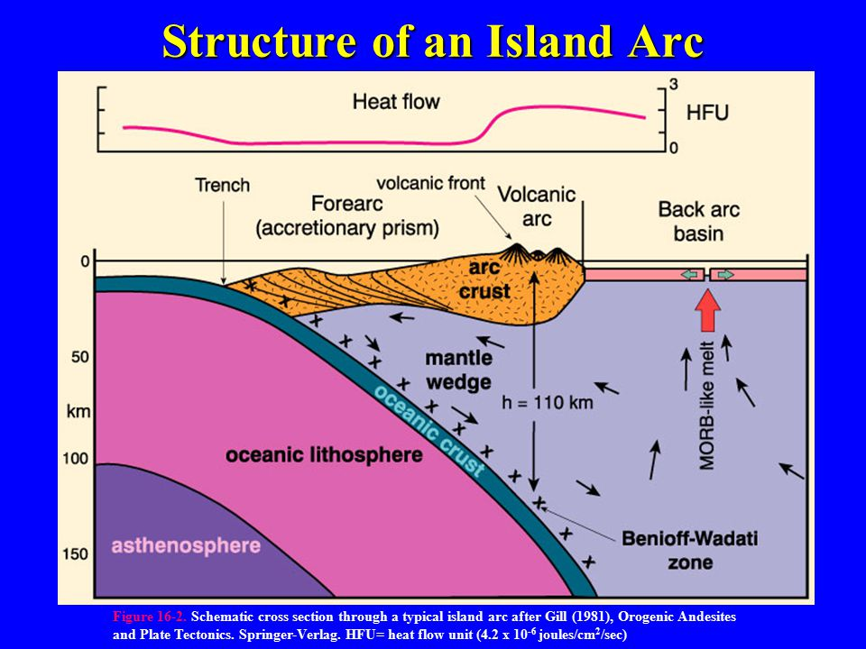 Structure of an Island Arc