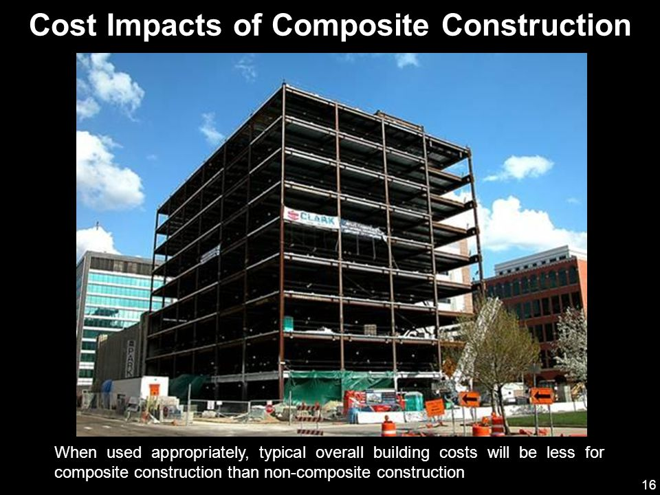 Cost Impacts of Composite Construction