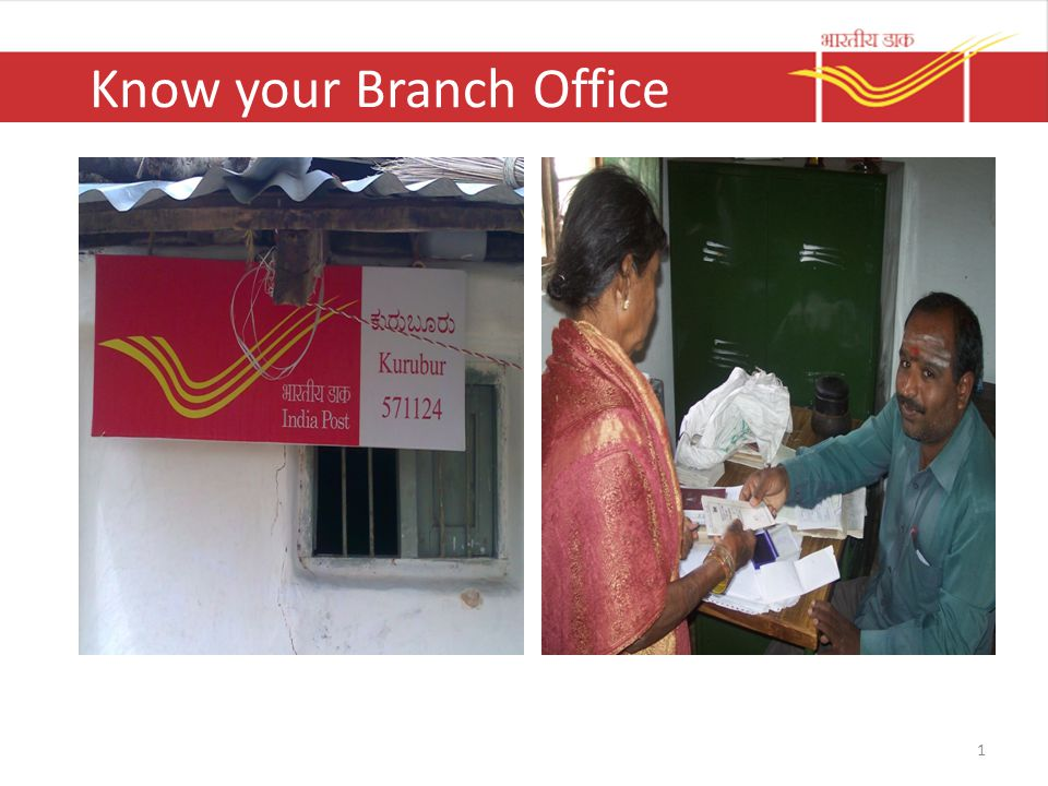 Know your Branch Office