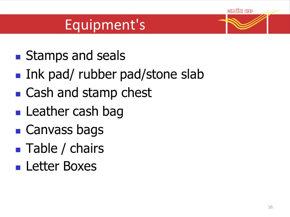 Equipment s Stamps and seals Ink pad/ rubber pad/stone slab