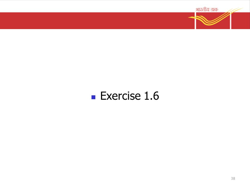 Exercise 1.6