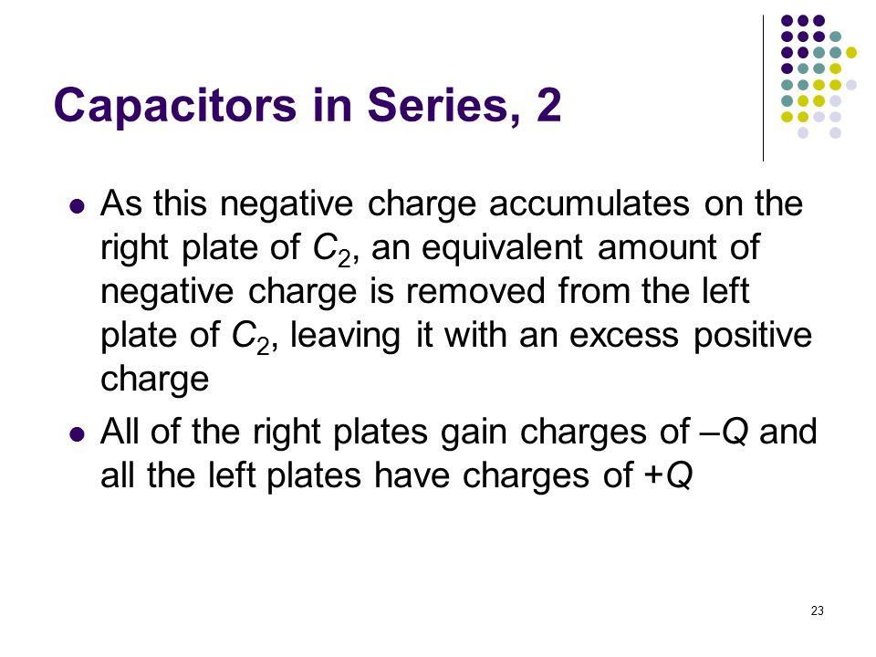 Capacitors in Series, 2