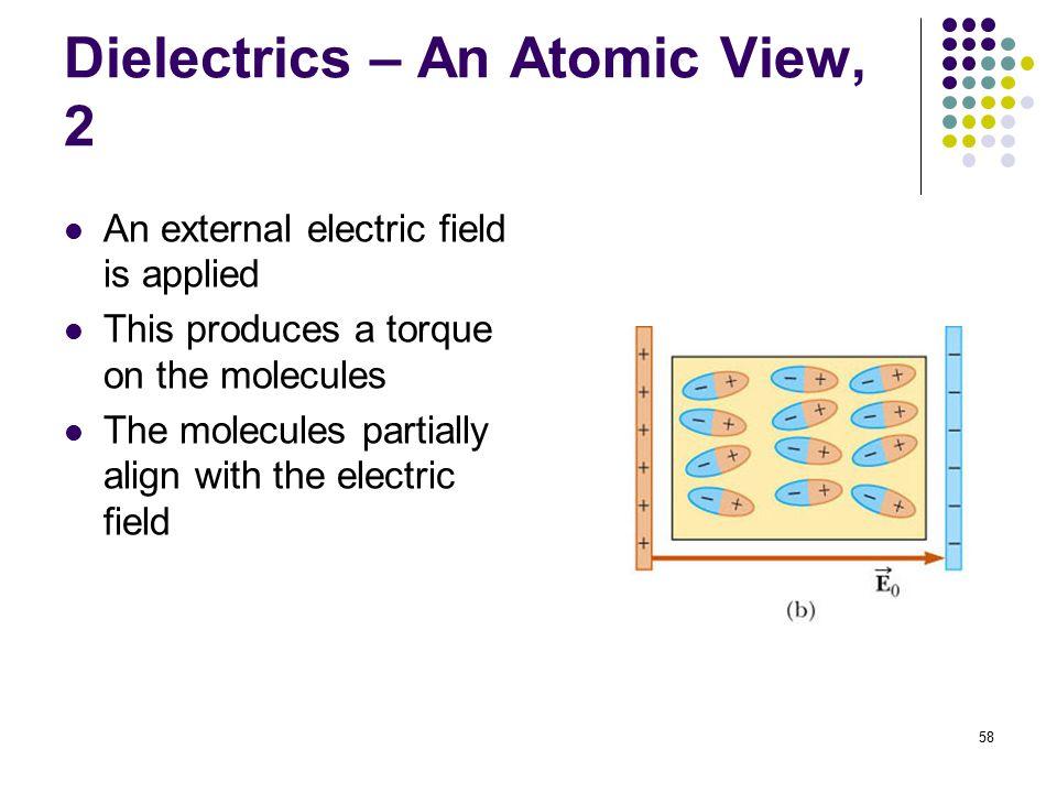 Dielectrics – An Atomic View, 2