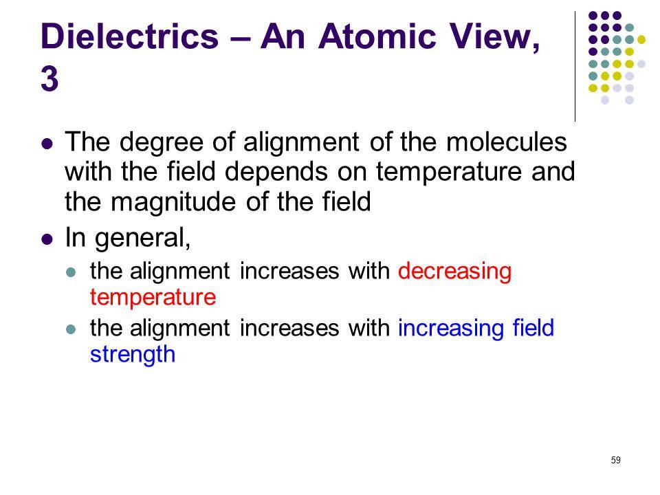 Dielectrics – An Atomic View, 3