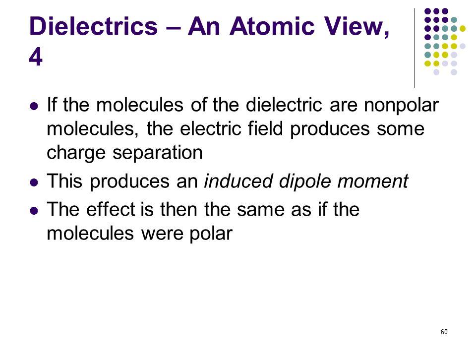Dielectrics – An Atomic View, 4