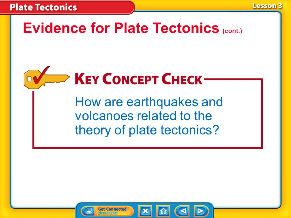 Evidence for Plate Tectonics (cont.)