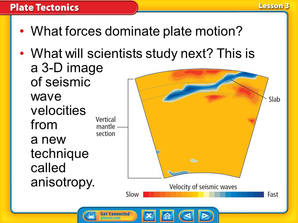 What forces dominate plate motion